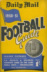 DAILY MAIL FOOTBALL GUIDE 1950-51