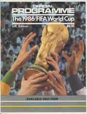 WORLD CUP 1986 OFFICIAL TOURNAMENT PROGRAMME