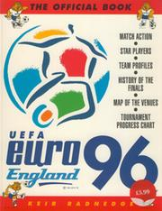 UEFA EURO 96 ENGLAND - THE OFFICIAL BOOK