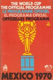 WORLD CUP 1970 OFFICIAL PROGRAMME