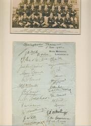 SOUTH AFRICA 1931-32 RUGBY AUTOGRAPHS