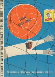 "BRAZIL V HUNGARY 1954 (WORLD CUP QUARTER-FINAL) FOOTBALL PROGRAMME - ""BATTLE OF BERNE"""
