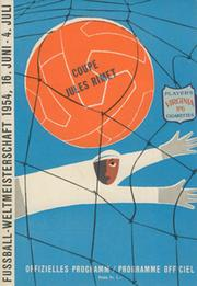 ENGLAND V BELGIUM 1954 (WORLD CUP) FOOTBALL PROGRAMME