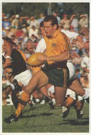 DAVID CAMPESE (AUSTRALIA) SIGNED RUGBY PHOTOGRAPH