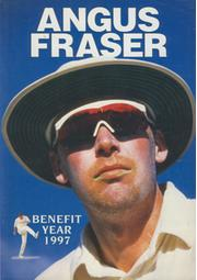 ANGUS FRASER (MIDDLESEX) 1997 BENEFIT BROCHURE