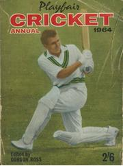 PLAYFAIR CRICKET ANNUAL 1964