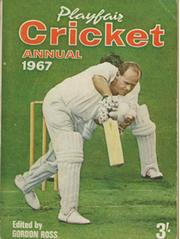 PLAYFAIR CRICKET ANNUAL 1967