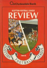 CLYDESDALE BANK SCOTTISH FOOTBALL LEAGUE REVIEW 1985-86