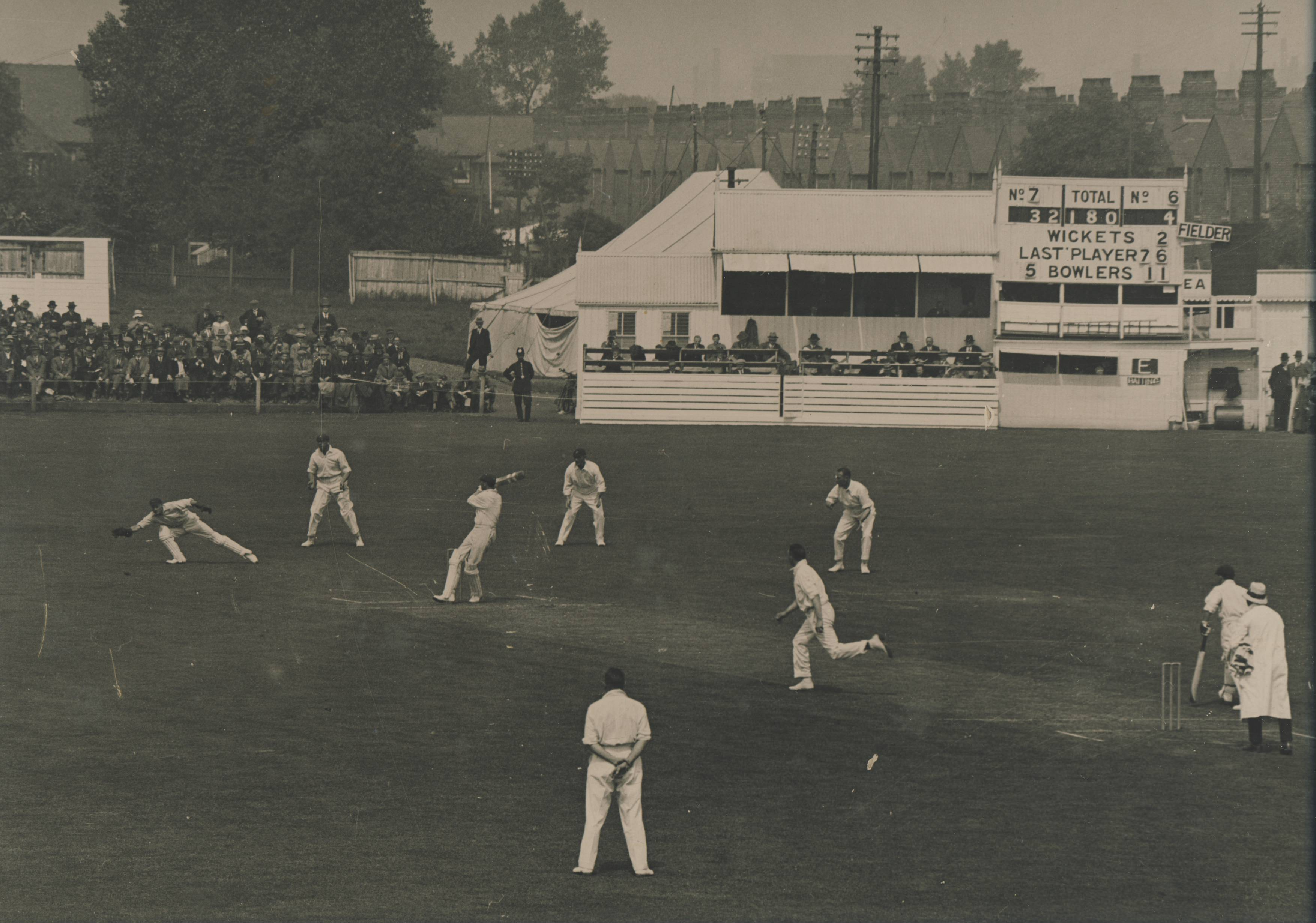 South Africa against England in 1924