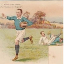Rugby Union Postcards