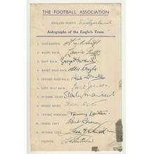 Football Team Sheets