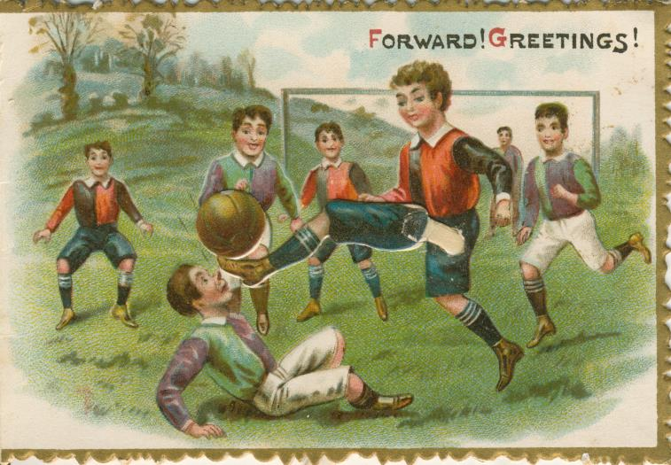 Image result for victorian christmas football