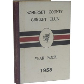 SOMERSET COUNTY CRICKET CLUB YEARBOOK 1933