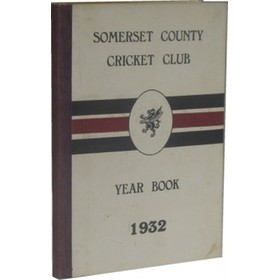 SOMERSET COUNTY CRICKET CLUB YEARBOOK 1932