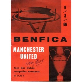 BENFICA V MANCHESTER UNITED 1966 (EUROPEAN CUP QUARTER–FINAL)