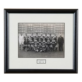 CARDIFF 1946-47 RUGBY PHOTOGRAPH