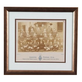 LEICESTER 1898-99 RUGBY PHOTOGRAPH