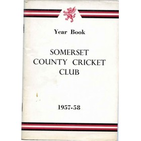 SOMERSET COUNTY CRICKET CLUB YEARBOOK 1957-58