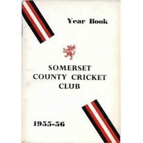 SOMERSET COUNTY CRICKET CLUB YEARBOOK 1955-56