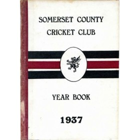 SOMERSET COUNTY CRICKET CLUB YEARBOOK 1937