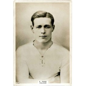 FRANK PENN (FULHAM) pinnace card