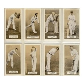 CRICKETERS 1934 (CARRERAS)
