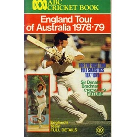ABC CRICKET BOOK: ENGLAND TOUR OF AUSTRALIA 1978-79