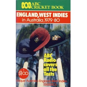 ABC CRICKET BOOK: ENGLAND, WEST INDIES IN AUSTRALIA 1979-80
