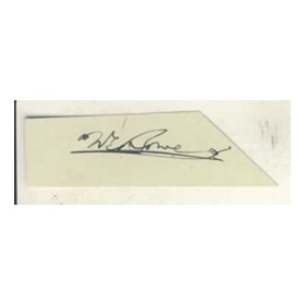 BILL BOWES CRICKET AUTOGRAPH