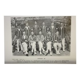 AMPLEFORTH CRICKET 1914-1928