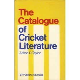 THE CATALOGUE OF CRICKET LITERATURE