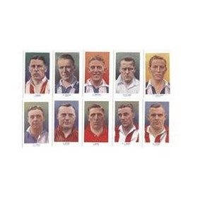 FAMOUS FOOTBALLERS 1939 (ADDITIONAL SET  51-75) (R & J HILL)
