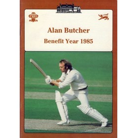 ALAN BUTCHER (SURREY) 1985 BENEFIT BROCHURE