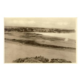 BALLYCASTLE GOLF CLUB (COUNTY ANTRIM) GOLF POSTCARD