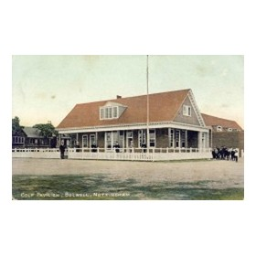 BULWELL FOREST GOLF CLUB (NOTTINGHAMSHIRE) GOLF POSTCARD