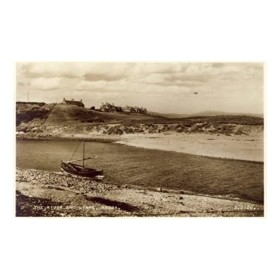 BRORA GOLF CLUB GOLF POSTCARD