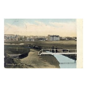 CARNOUSTIE GOLF CLUB (ANGUS) GOLF POSTCARD