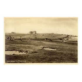 CLIFTONVILLE GOLF CLUB (KENT) GOLF POSTCARD
