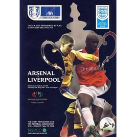 ARSENAL V LIVERPOOL 2001 (F.A. CUP FINAL) FOOTBALL PROGRAMME