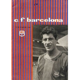 BARCELONA V REAL MADRID 1959/60 (EUROPEAN CUP SEMI-FINAL) FOOTBALL PROGRAMME