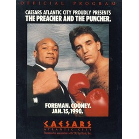 "GEORGE FOREMAN V GERRY COONEY 1990 (""THE PREACHER AND THE PUNCHER"")"