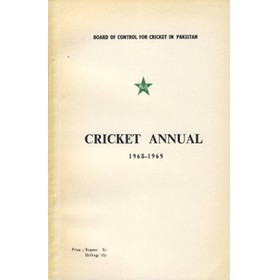 BOARD OF CONTROL FOR CRICKET IN PAKISTAN: CRICKET ANNUAL 1968–1969