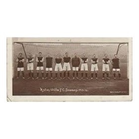 ASTON VILLA 1913-14 FOOTBALL POSTCARD