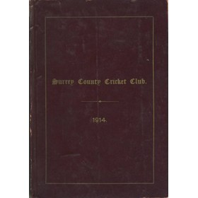 SURREY COUNTY CRICKET CLUB 1914 [HANDBOOK]