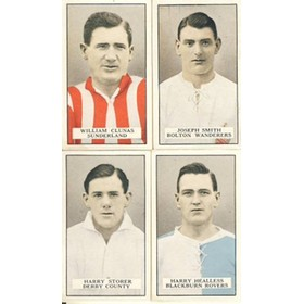 FAMOUS FOOTBALLERS (BROWN BACK) 1926 (GALLAHER)