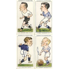 FOOTBALL CARICATURES 1935 (HIGNETT)