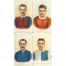 FOOTBALL CLUB COLOURS 1907