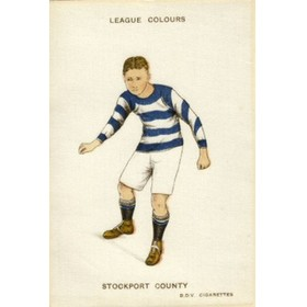 STOCKPORT COUNTY (LEAGUE COLOURS)