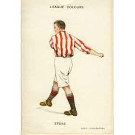 STOKE CITY (LEAGUE COLOURS)