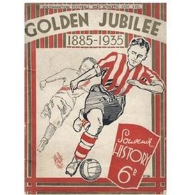 FIFTY YEARS OF FOOTBALL: A GOLDEN JUBILEE SOUVENIR 1885 - 1935